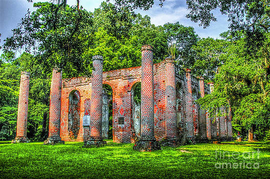 Dale Powell - Old Sheldon Church Ruins