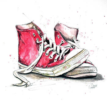 Old Shoes 2 by Astrid Rieger