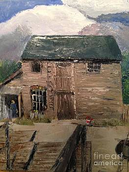 Old Shop at Sutton Bay by Phyllis Norris