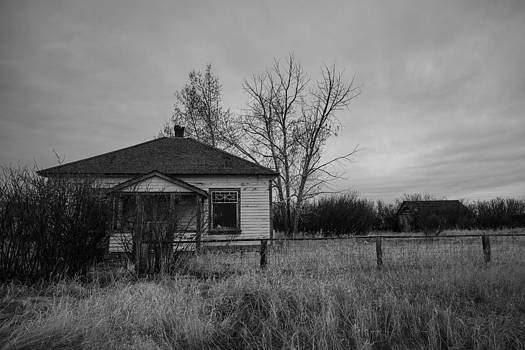 Old Southern Alberta Home by Azriel Knight