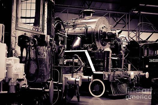Peter Noyce - Old steam train locomotives.
