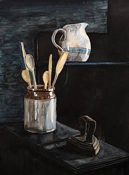 Old Still Life by Masha Batkova