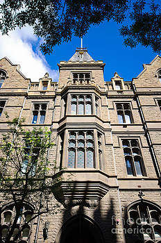 David Hill - Old Stone Building of RMIT University - Melbourne - Australia