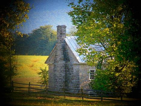 Old Stone House by Joyce Kimble Smith