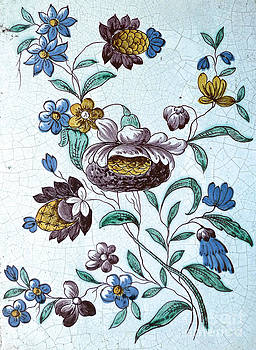 Old Swedish Fireplace Tile by Donovan OMalley