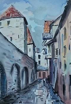 Old Tallinn II by Ylo Telgmaa