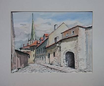 Old Tallinn by Ylo Telgmaa