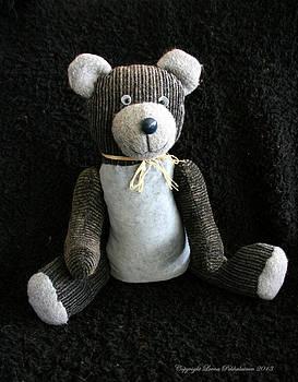 Old Teddy Bear Veijo by Leena Pekkalainen
