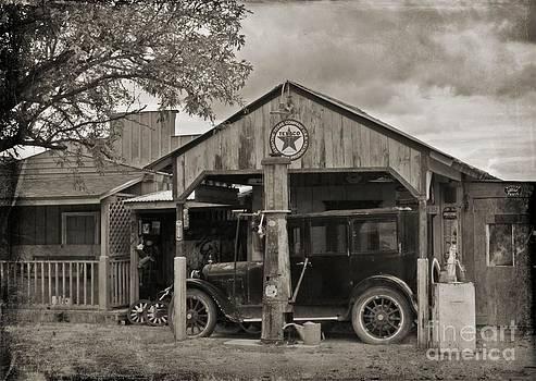 John Malone - Old Texaco Gas Station