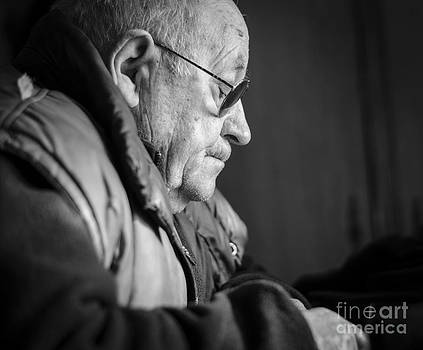 Old Thinker by Catalin Petre Stan