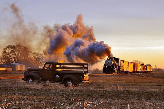 Old Time Steam by Evan Schilling