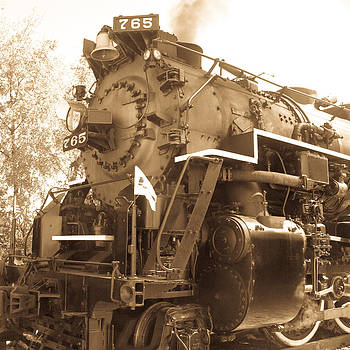 Old Time Train by Kelli Howard