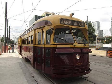 Alfred Ng - old Toronto Streetcar