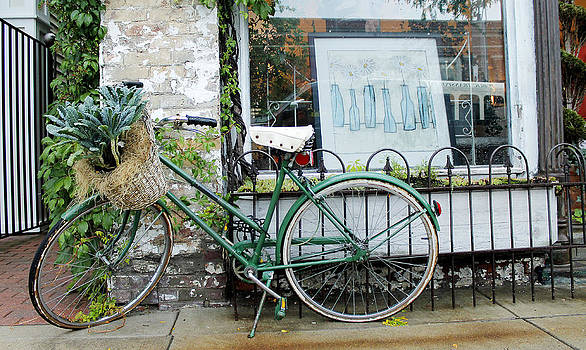 Old town bike stop by Danielle Allard