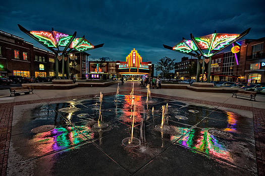 Old town plaza by  Caleb McGinn