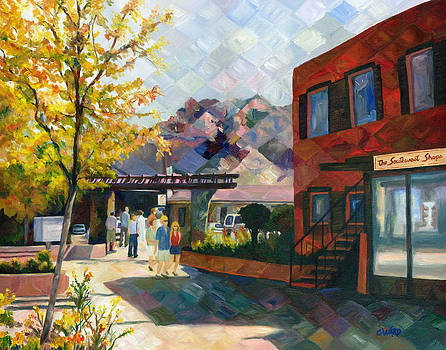 Old Town Sedona by Colleen Ward
