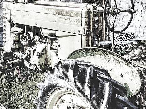 Old Tractor by Greg Bush