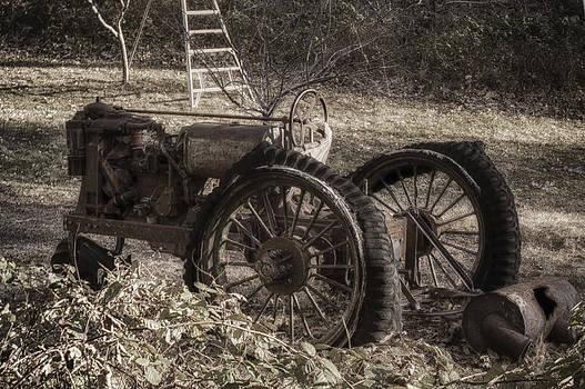 Old Tractor by Lynn Geoffroy