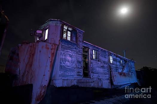 Keith Kapple - Old train trail snow plow