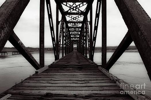 Old Trestle Railway Bridge by Miss Dawn