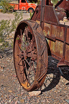 Old Trusted Wheel by Arnold Despi