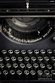 Old Typewriter by Brycia James