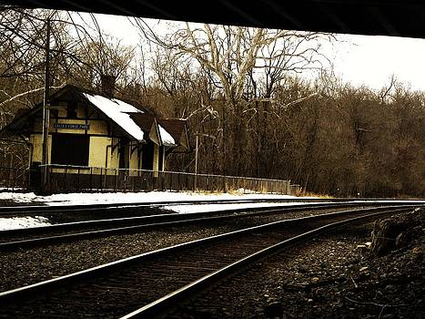 Old Valley Forge Train Station by Christian Rooney