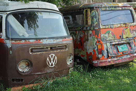 Old Vans by Gail Maloney