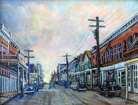 Old Virginia City by Donna Tucker