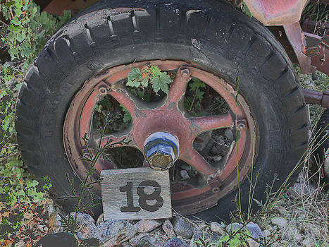 Old Wheel by David Armstrong