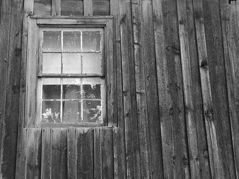 Old window by Mark C Ettinger