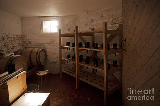 Old Wine Cellar Monticello Virginia by Artist and Photographer Laura Wrede