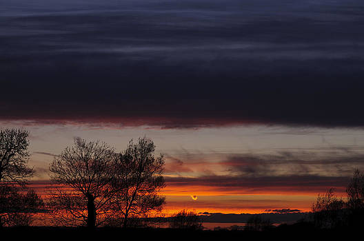 Old Wolverton sunset by David Isaacson