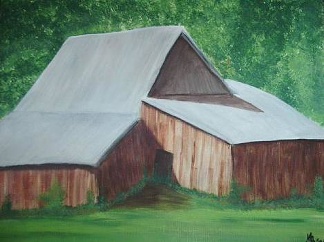 Old Wood Barn by Melanie Blankenship