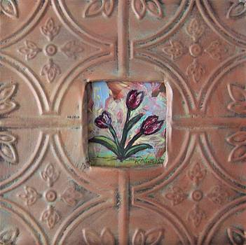 Old World Tulips by Krista Ouellette