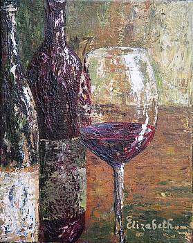Old World Winery Glass by Beth Maddox