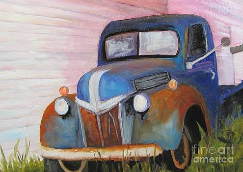 Old Wreck of a Truck by Barbara Haviland