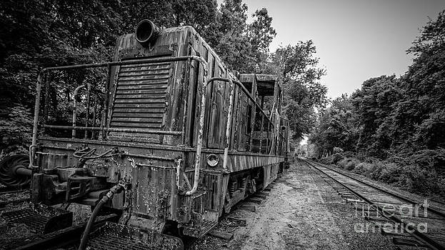Old Yard Switcher Engine Valley Railroad by Edward Fielding