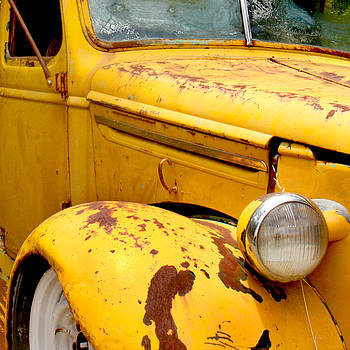 Art Block Collections - Old Yellow Truck