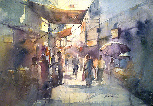 Oldcity by Mohan Watercolours