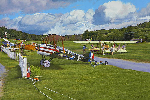 Olde Rhinebeck Aerodrome by Kenneth Young