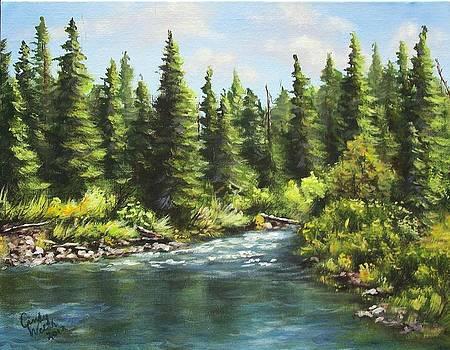 Oldman Stream by Cindy Welsh