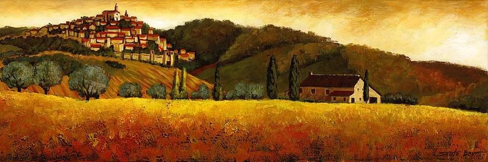 Olive Season by Santo De Vita