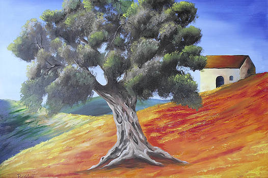 Olive Tree  by Randall Brewer