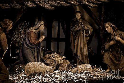 Frank J Casella - Olive Wood Nativity
