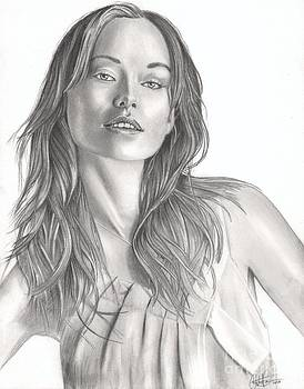 Olivia Wilde by Christian Conner