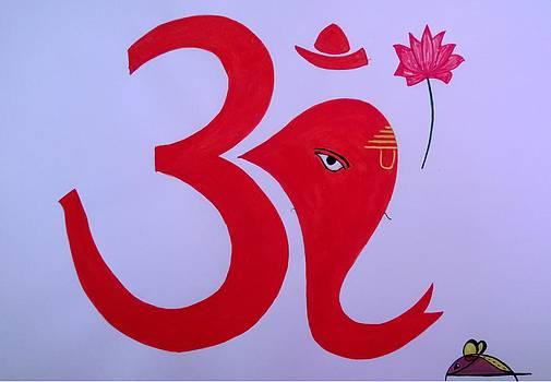 Om Ganesh by Surabhi Jain