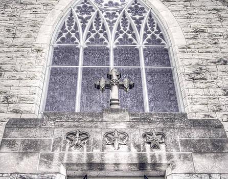 Omaha - Trinity Cathedral Window by Andrea Kelley