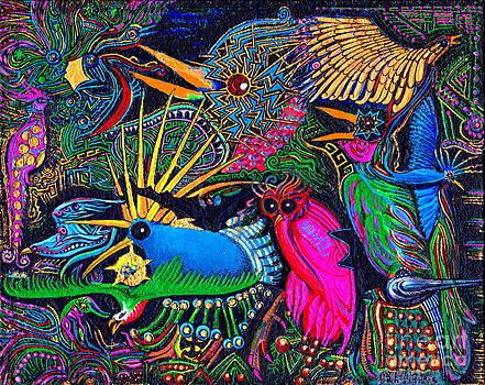 Peter Gumaer Ogden - Omen Birds