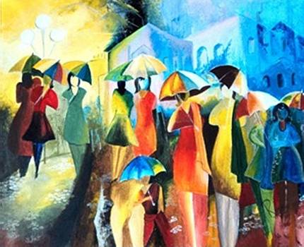 On a Rainy Day Again by Rupa Prakash
